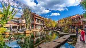 Promo Paket Tour Wisata Liburan Asia China Tibet Shangri La 2020 Murah - AmwindoTourCom - Shuhe Ancient Town