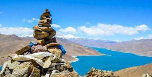 Promo Paket Tour Wisata Liburan Asia China Tibet Shangri La 2020 Murah - AmwindoTourCom - Yamdrok Lake